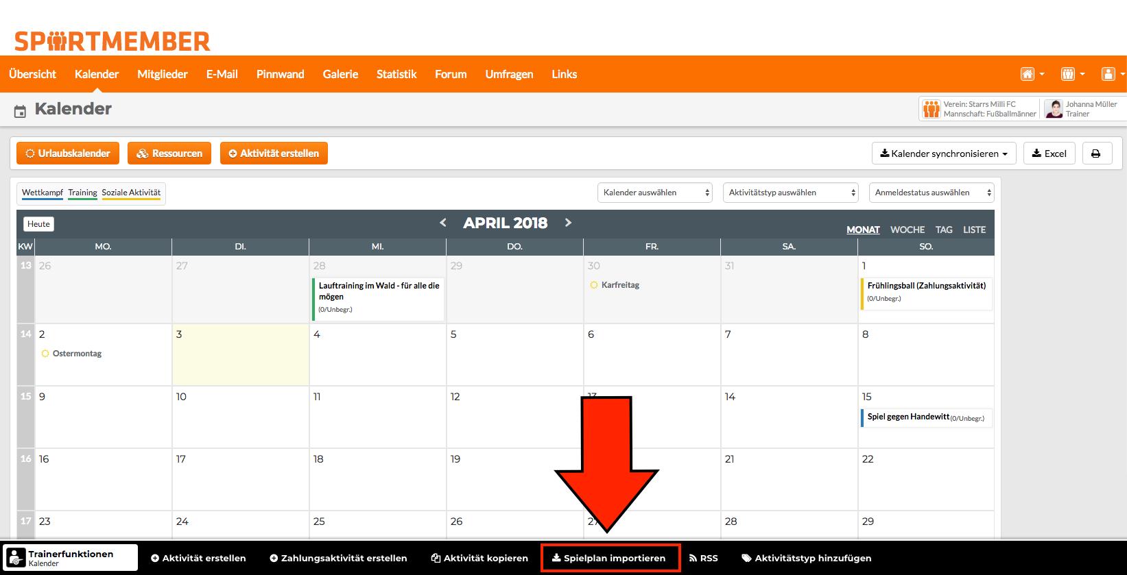 Fein Monatliche Aktivität Kalendervorlage Bilder - Beispiel ...
