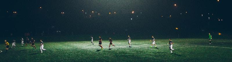 Crear alineación de fútbol