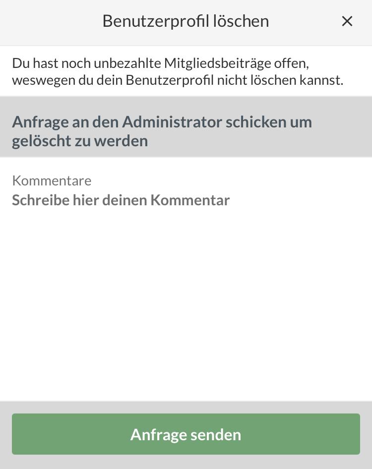 SportMember.de - Wie lösche ich mein SportMember Profil?